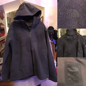 North Face Grey Gortex Winter Jacket Large